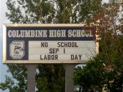 English: Columbine High School in Columbine, Colorado.