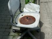 Hemorrhoids chair