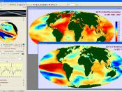 Screenshot of the IDRISI GIS and Image Processing desktop showing the image time series modeling tool Earth Trends Modeler.
