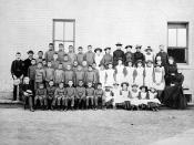 St. Paul's Indian Industrial School, Middlechurch, Manitoba