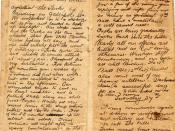 Diary of Gallipoli: entry for 25th April 1915. Diary of 494 Sergeant Joseph Cecil Thompson, Gallipoli 25th April 1915. Pages  four and five