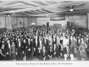 The Annual Dance of the Kappa Alpha Psi Fraternity.