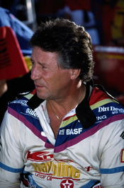Mario Andretti at the 1991 United States Grand Prix in Phoenix, Arizona