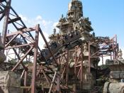 English: Indiana Jones and the Temple of Doom, Disneyland Paris, France