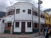 functionalism or functionalistic  Santafé/Santa Fe de Bogotá. Cundinamarca CO. Colombia
