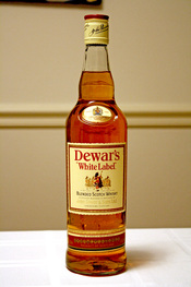 English: Dewars White Label Blended Scotch Whisky