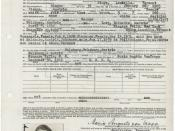 Petition for Naturalization of Maria von Trapp (known as Maria in