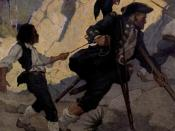 English: Jim, Long John Silver and his Parrot by en:w:N. C. Wyeth from 1911 edition of en:Treasure Island