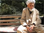 English: Old uzbek man from central Uzbekistan.