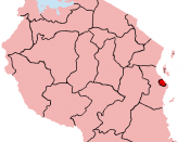 Map of the Dar es Salaam Region