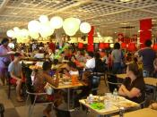 English: The cafeteria of the Ikea store in Red Hook, Brooklyn.