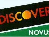 Dean Witter, under Sears ownership, launched the Discover Card in 1986