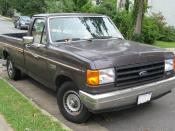 1987-1991 Ford F-150 photographed in Fairfax, Virginia, USA. Category:Ford F-150