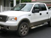 2004-2007 Ford F-150 photographed in Kensington, Maryland, USA. Category:Ford F-150 (eleventh generation)