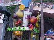 A Jamba Juice located in the Universal Studios Hollywood CityWalk in Los Angeles, California.