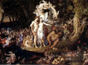 The Reconciliation of Titania and Oberon. Oil on canvas, size 30 x 48.5 inches, National Gallery of Scotland, Edinburgh.