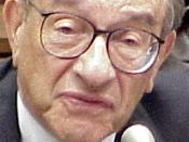 The honourable Alan Greenspan testifies before the House Financial Services Committee.