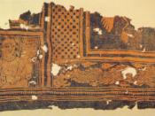 Batik textile from Niya, China