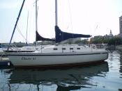 English: A picture of a CS30 Yacht. עברית: תמונה של יאכטה מסוג CS30