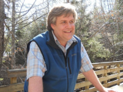 Greg Brown, BP Teacher of the Year.