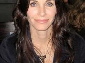 English: Courteney Cox at New York Fashion Week.