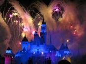 Fireworks over Cinderellas Castle
