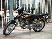 English: Hero Honda Passion