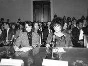 Nancy Pelosi and Elizabeth Taylor Testifying Before the House Budget Committee on HIV/AIDS Funding