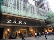English: Zara Store, Pitt Street Mall, Sydney