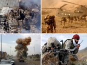 English: Montage of the War on Terror. Svenska: Montage av kriget mot terrorismen.