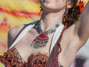 Belly dancer at the 2011 Age of Chivalry