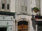 Digne, house of Mgr. de Miollis (after him portrayed Victor Hugo in the Les Misérables bishop Myriel