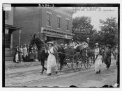 Oldest suffragette - Mrs. Rhoda Glover in Pageant  (LOC)