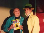 Shel Dorf with Warren Beatty