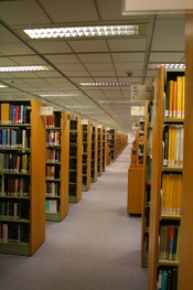 English: The library of HKUST