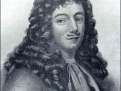 Illustration of Jean Talon, first intendant of New France.
