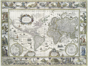 Nova totius terrarum orbis geographica ac hydrographica tabula, Amsterdam 1635