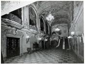 Stanley Theatre, Utica, New York in 1929 - Grand Staircase Hall
