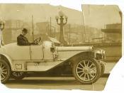Seattle man in a  1913 Winton
