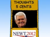 Gingrich Think Tank Goes Bankrupt