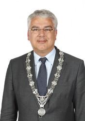 English: Frank Koen mayor Capelle aan den IJssel Nederlands: Frank Koen Burgemeester Capelle aan den IJssel