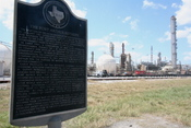 Valero refinery, Port Arthur TX, historical plaque