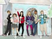 The cast of Sonny with a Chance. (Left to right) Sterling Knight as Chad Dylan Cooper, Allisyn Ashley Arm as Zora Lancaster, Demi Lovato as Sonny Munroe, Tiffany Thornton as Tawni Hart, Brandon Mychal Smith as Nico Harris, and Doug Brochu as Grady Mitchel