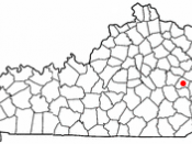 Adapted from Wikipedia's KY county maps by Seth Ilys.