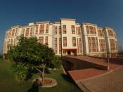 English: Manipal University-Hostel Block
