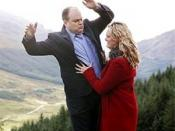 Janine causes Barry to fall to his death, 2004