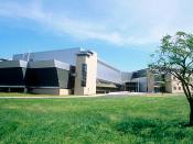 English: Photograph of the NIST Advanced Measurement Laboratory (AML) building Gaitherburg, MD