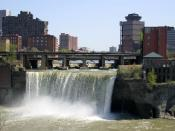 English: High Falls Rochester NY
