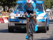 Deutsch: Erik Zabel beim Prolog der Tour de France 2006