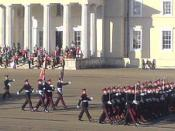The Royal Military Academy Sandhurst is the home of British Army officer training
